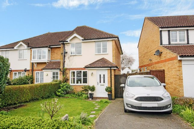 Thumbnail Semi-detached house for sale in Kristiansand Way, Letchworth Garden City