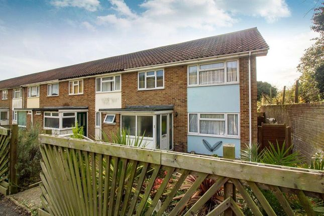 Thumbnail End terrace house for sale in Hollands Avenue, Folkestone