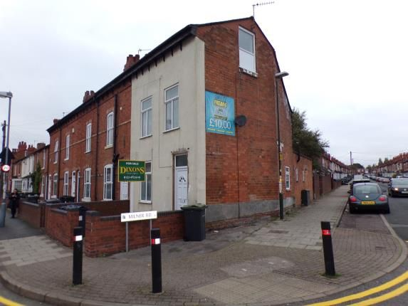 End terrace house in  St. Stephens Road  Selly Oak  Birmingham  West Midlands  Birmingham