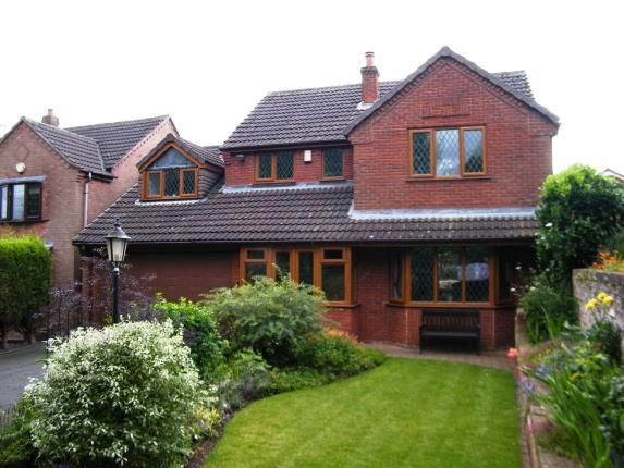 Thumbnail Detached house for sale in Croft Gardens, Chase Terrace, Burntwood