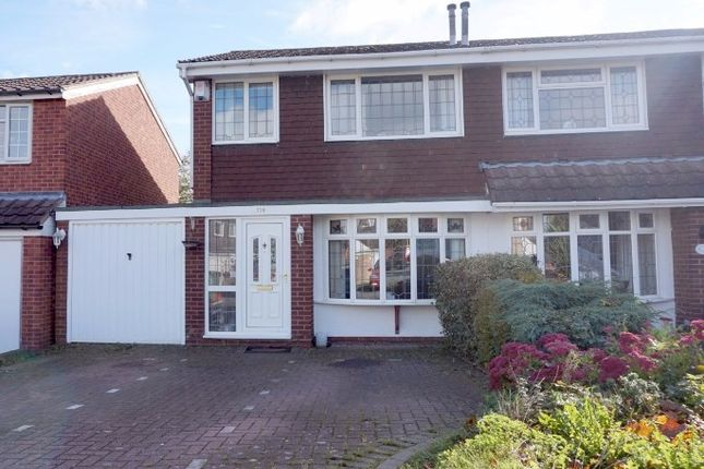 Thumbnail Semi-detached house for sale in Brambling, Tamworth