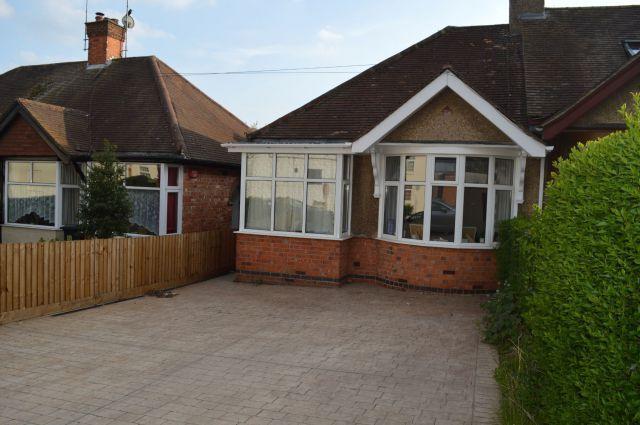 Thumbnail Semi-detached bungalow to rent in Knights Lane, Kingsthorpe Village, Northampton