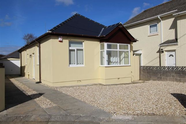 Thumbnail Detached bungalow for sale in Bowden Park Road, Crownhill, Plymouth