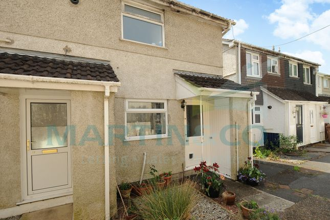 Thumbnail End terrace house for sale in Jackson Close, Plymouth, Devon
