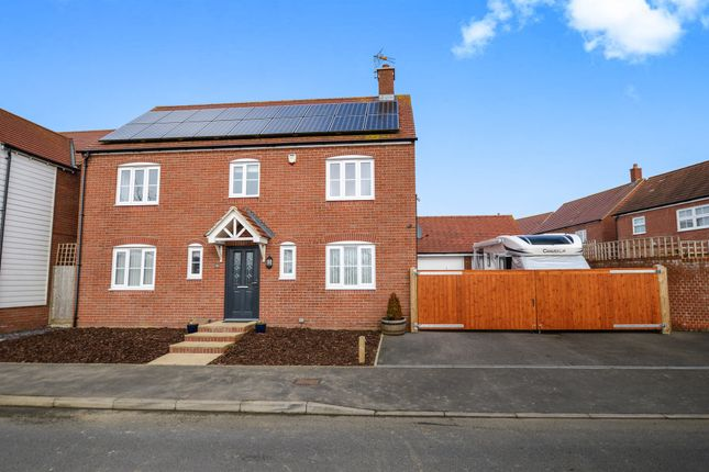 Thumbnail Detached house for sale in Cheesemans Green Lane, Kingsnorth, Ashford