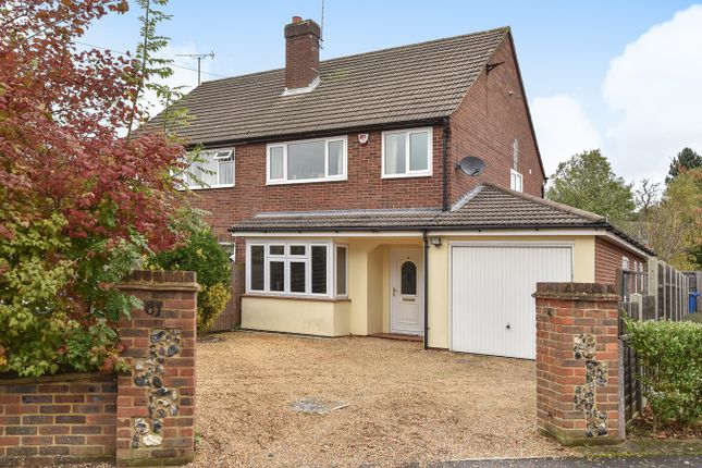 3 bed semi-detached house for sale in Church Road East, Crowthorne