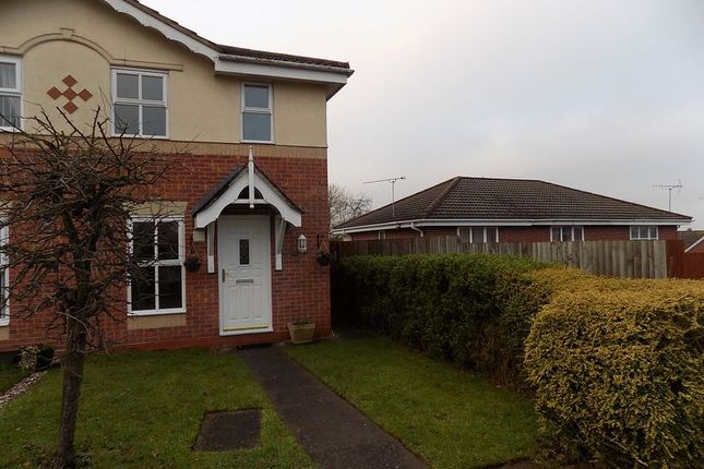 Thumbnail Semi-detached house to rent in Padstow Drive, Stafford
