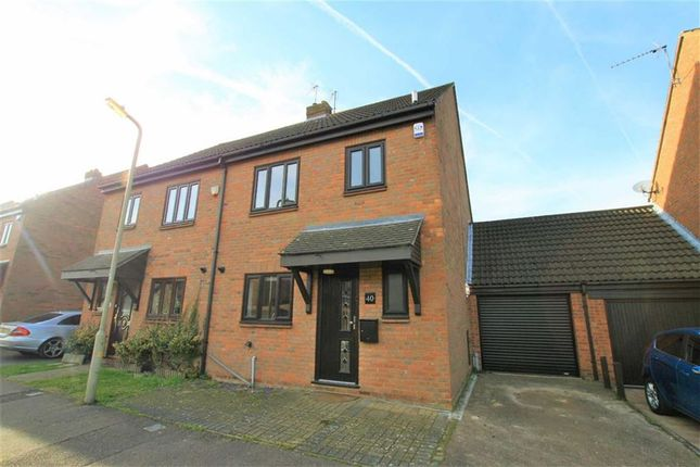 Thumbnail Semi-detached house for sale in Brackens Drive, Brentwood, Essex