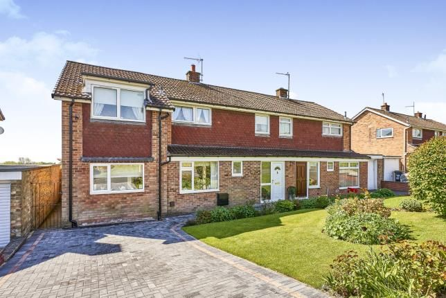Thumbnail Semi-detached house for sale in Ronaldshay Drive, Richmond, North Yorkshire, United Kingdom