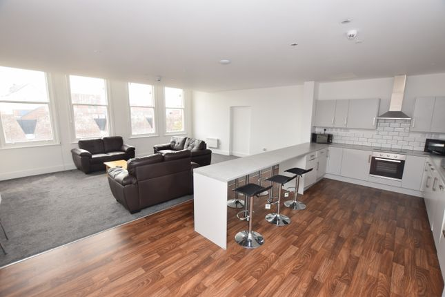 Thumbnail 7 bed flat to rent in St. Peters Street, Derby