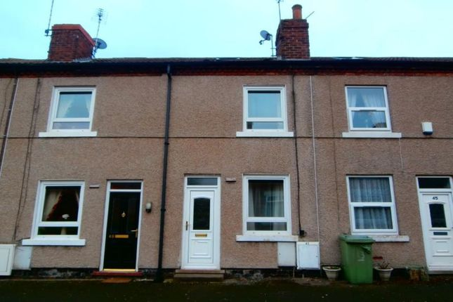Thumbnail Terraced house to rent in The Square, Danesmoor, Chesterfield