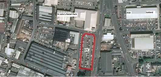 Thumbnail Land for sale in Dudley Road / Bell Place, Wolverhampton