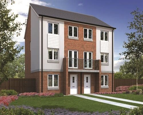 "Thumbnail End terrace house for sale in ""The Greyfriars"" at Greatham Avenue, Stockton-On-Tees"