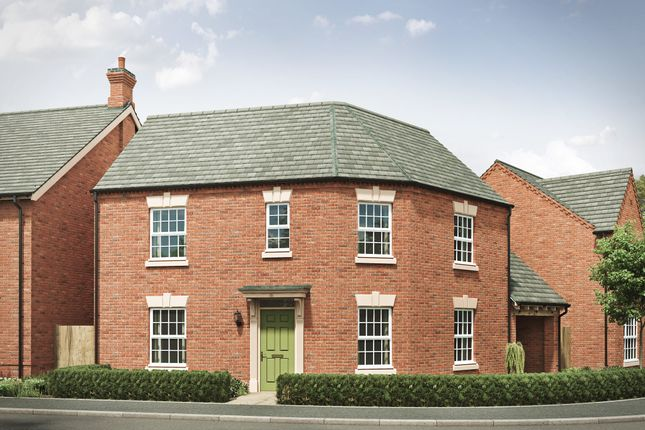 """3 bed detached house for sale in """"The Moreley 4th Edition"""" at Harvest Road, Market Harborough LE16"""