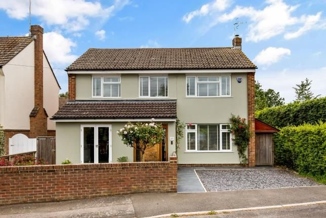 Thumbnail Detached house for sale in Orchard Drive, Wye, Ashford, Kent