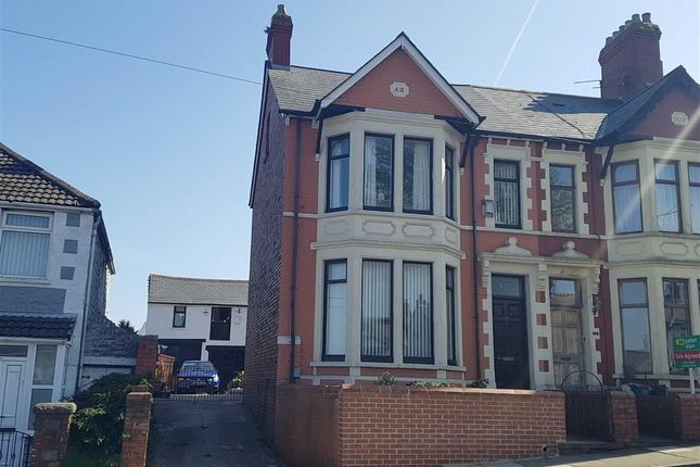 Thumbnail End terrace house for sale in Barry Road, Barry