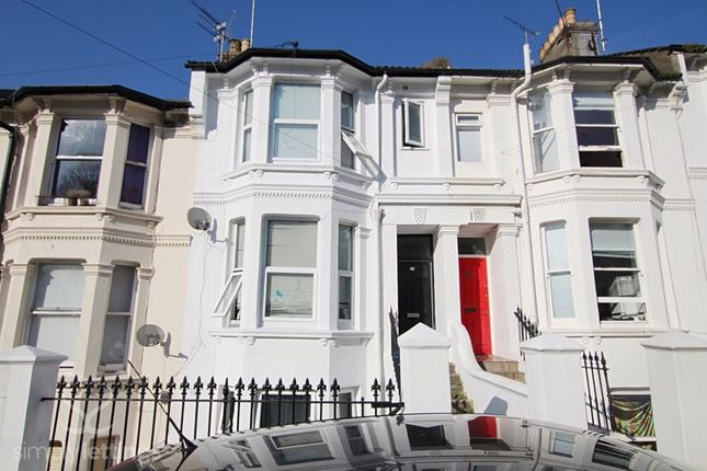 Thumbnail Flat to rent in Gladstone Place, Brighton