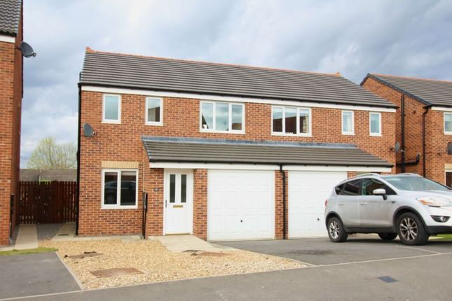 Thumbnail Semi-detached house to rent in Hutchinson Close, Coundon, Bishop Auckland
