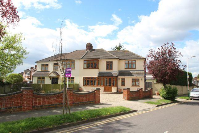 Thumbnail Semi-detached house for sale in The Ridgeway, Romford