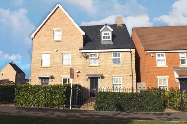 Thumbnail Semi-detached house to rent in Venus Avenue, Biggleswade
