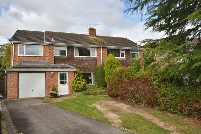 Thumbnail Semi-detached house for sale in Crafts End, Chilton, Didcot