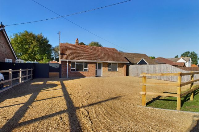 Thumbnail Detached bungalow for sale in The Cottons, Outwell, Wisbech