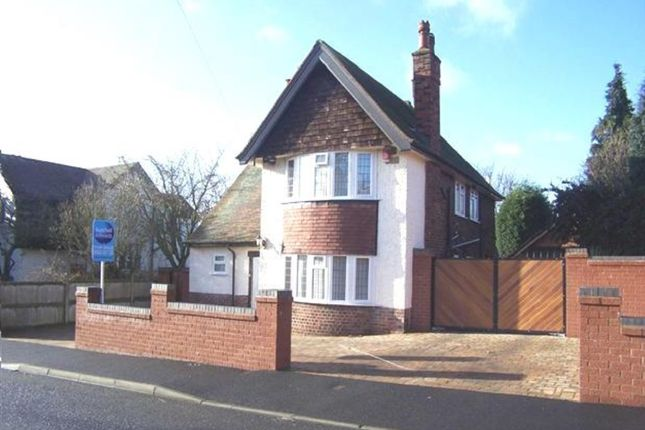 Thumbnail Detached house for sale in Clipstone Avenue, Mansfield