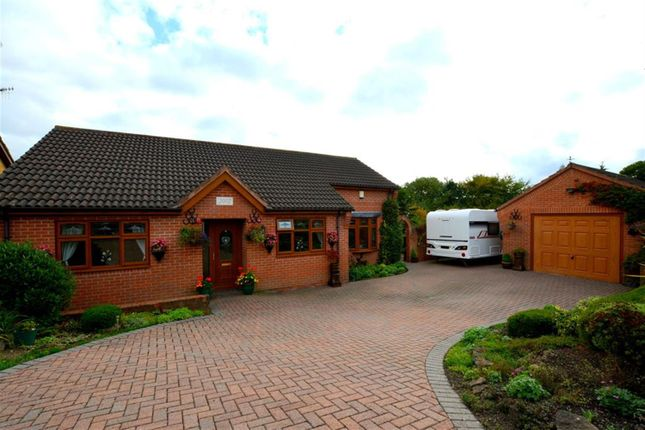 Thumbnail Detached bungalow for sale in Dale Close, Middlecroft, Chesterfield