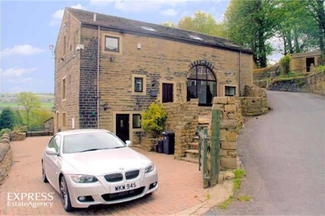 Thumbnail Barn conversion for sale in Upper Bentley Royd, Sowerby Bridge, West Yorkshire