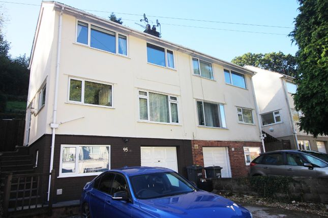 Thumbnail Town house for sale in Occombe Valley Road, Paignton
