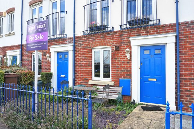 Thumbnail Town house for sale in Galleon Way, Rochester