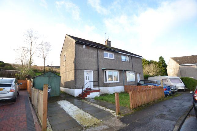Thumbnail Semi-detached house for sale in Auchendores Avenue, Port Glasgow, Renfrewshire