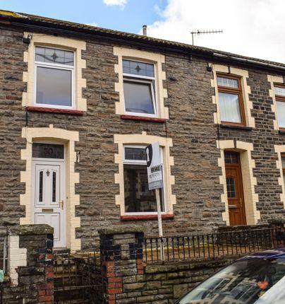 Thumbnail Terraced house for sale in Fenwick Street, Pontygwaith
