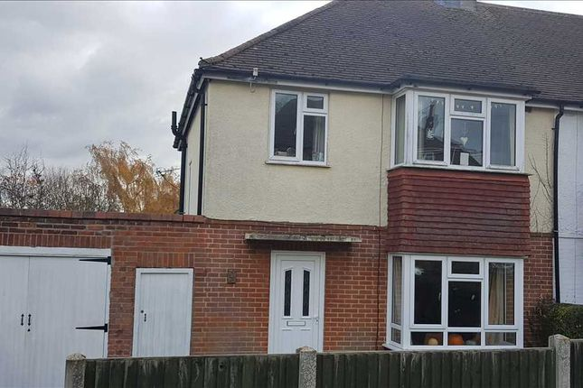 Thumbnail Semi-detached house to rent in Glen Iris Avenue, Canterbury