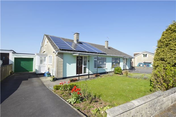Thumbnail Semi-detached bungalow for sale in Highfields, Radstock, Somerset