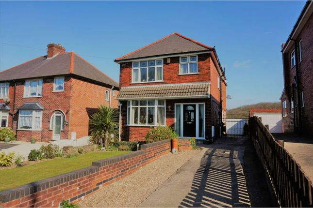 Thumbnail Detached house for sale in The Hill, Glapwell, Chesterfield
