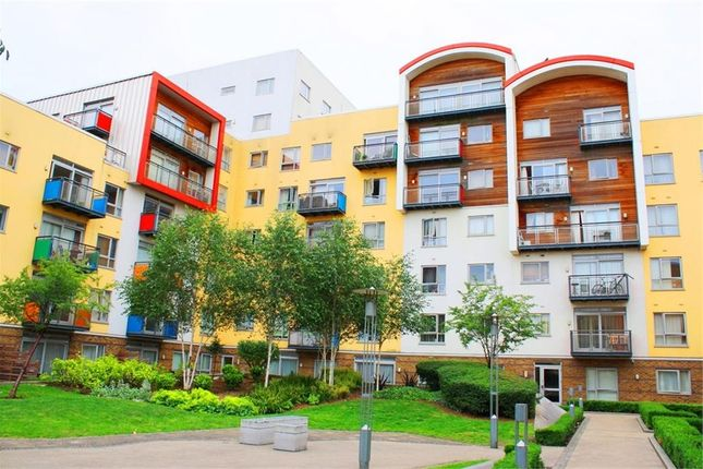 Thumbnail Flat for sale in Holly Court, Greenroof Way, London