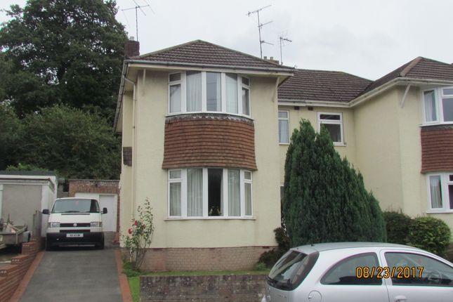 Thumbnail Semi-detached house to rent in Heath Walk, Downend, Bristol