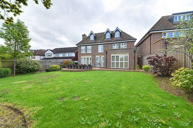 Thumbnail Detached house for sale in Barham Avenue, Elstree, Borehamwood