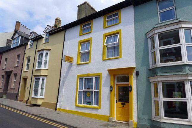 Thumbnail Terraced house for sale in Bridge Street, Aberystwyth, Ceredigion