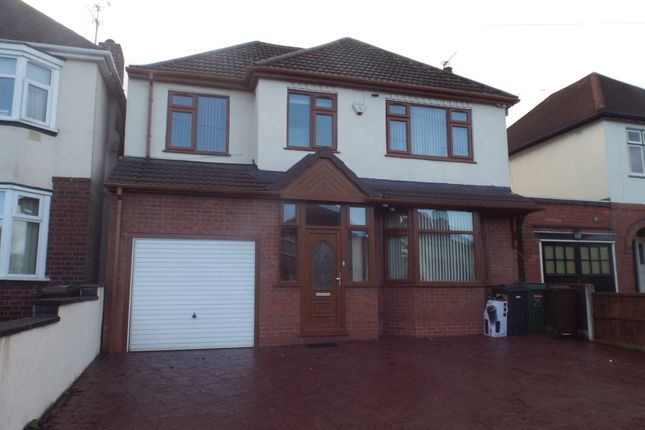 Thumbnail Detached house to rent in Ribbesford Avenue, Wolverhampton