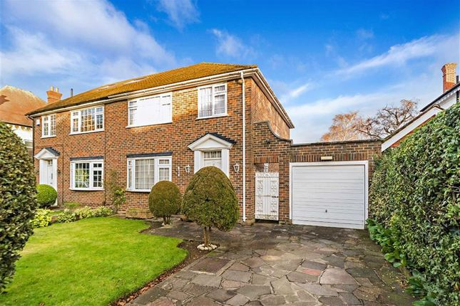 Thumbnail Semi-detached house for sale in The Ridgway, Sutton