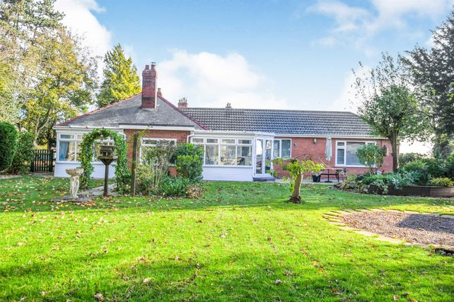 Thumbnail Detached bungalow for sale in Station Road, Sibsey, Boston