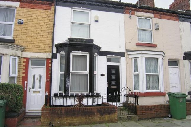 Thumbnail Terraced house to rent in Crofton Road, Birkenhead, Wirral