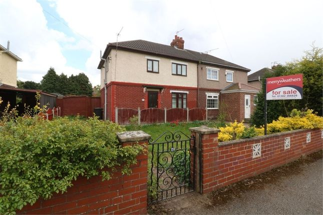 Thumbnail Semi-detached house for sale in Rowena Avenue, Edenthorpe, Doncaster, South Yorkshire