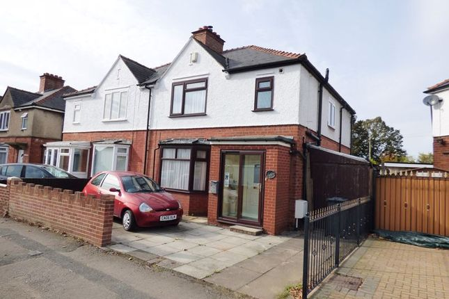 Thumbnail Semi-detached house for sale in King Edwards Avenue, Linden, Gloucester