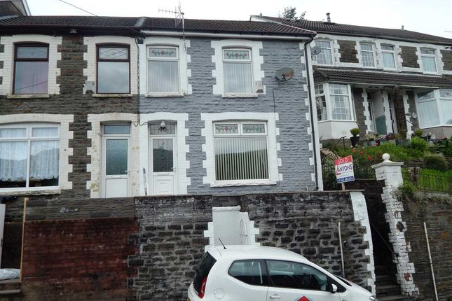 Thumbnail End terrace house to rent in Penrhys Road, Tylorstown, Ferndale