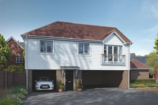 Thumbnail Flat for sale in Manley Boulevard, Holborough Lakes, Snodland, Kent