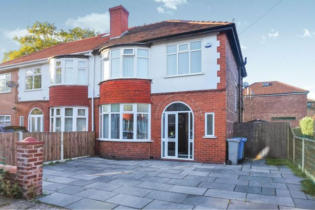 Thumbnail Semi-detached house for sale in Welney Road, Manchester