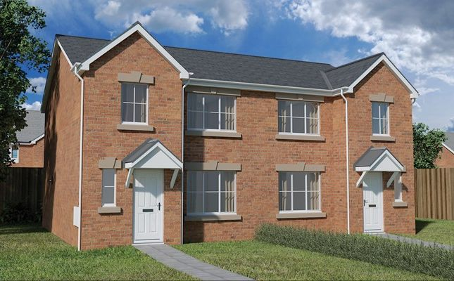 Thumbnail Semi-detached house for sale in Nant Ffrwd, Beacon Heights, Merthyr Tydfil
